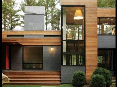 Fachadas de casas de madera de un piso imagenes de casas - Imagenes de casas de madera ...