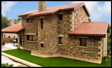 Fachadas de casas modernas con piedra muy bellas for Fachadas de casas modernas con piedra