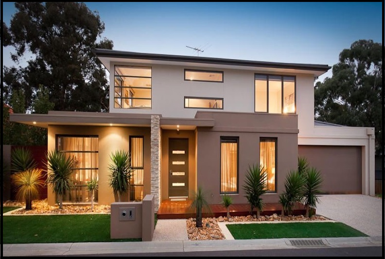 Fachadas de casas bonitas y modernas de dos pisos for Fachadas de casas de dos pisos sencillas