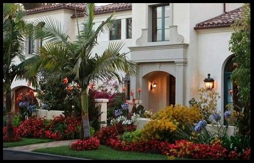 Fachadas de casas con hermosos jardines fotos de - Casas con jardines bonitos ...