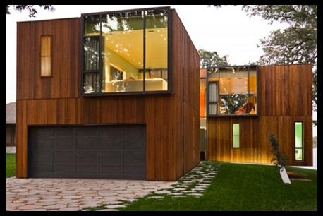 Fachadas de casas de madera modernas y bonitas imagenes for Casas de madera pequenas
