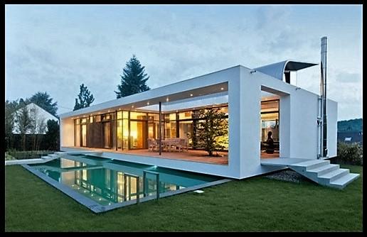 Fotos de casas minimalistas imagenes de casas del futuro for Modelo de fachadas de viviendas