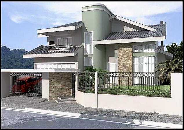 Fotos de casas modernas de dos pisos bell simas casas for Casas modernas de 70m2