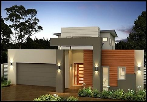 Fachadas de casas bonitas y sencillas para construir Pisos para exteriores de casas modernas