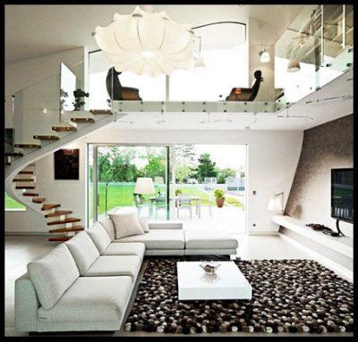 Fotos de casas modernas por dentro imagenes de casas del for Imagenes escaleras modernas