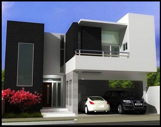 Fotos de casas modernas de dos pisos bell simas casas for Casas modernas 2 pisos