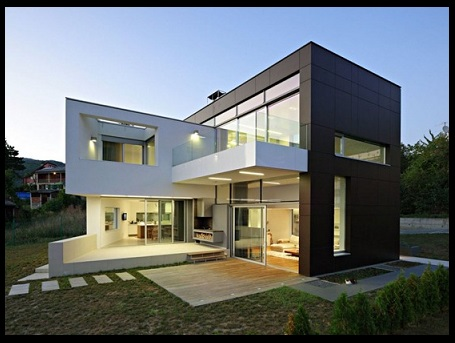 Fachadas de casas contemporaneas pictures to pin on - Casas contemporaneas ...