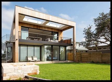 Fachadas modernas con balcon imagenes de casas del futuro for Fachadas de casas minimalistas con balcon