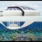 Las Casas flotantes Del Futuro En El Mar