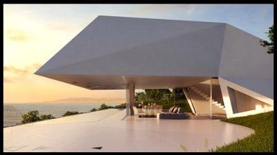 Fachadas de casas futuristas imagenes de casas del futuro for Casas futuristas