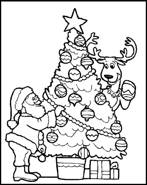 Imagenes De Arboles De Navidad Para Dibujar y Colorear  Imagenes