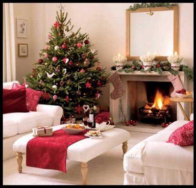 casas-decoradas-de-navidad-interiores