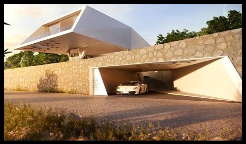Casas con dise o futurista imagina imagenes de casas del for Casas futuristas