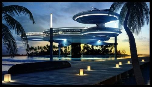 Imagenes de hoteles del futuro en dubai imagenes de for Hotel bajo el mar dubai