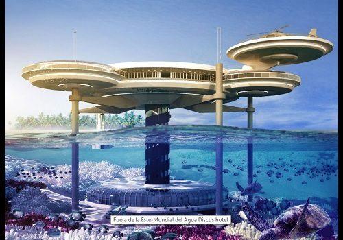 Imagenes de hoteles del futuro en dubai imagenes de for Hotel bajo el agua precio