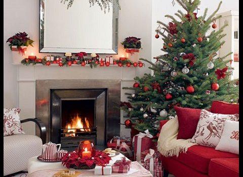 Imagenes De Casas Decoradas De Navidad Por Dentro