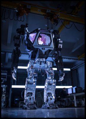el robot tripulado del futuro