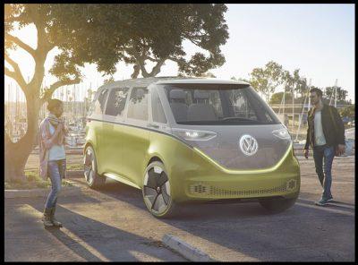 ID Buzz Van de Volkswagen