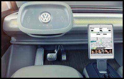Volkswagen Presento Un Microbus Electrico Para El Futuro