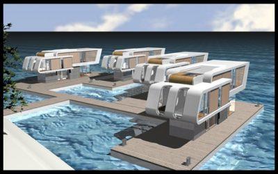 Modernas Maquetas De Casas Del Futuro