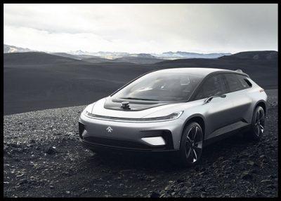 El Auto Electrico Del Futuro El Faraday FF 91