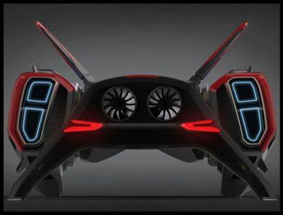 Vehículo Futurista