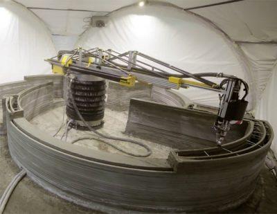 Impresora 3D Gigante Para Construir Casas En 24 Horas