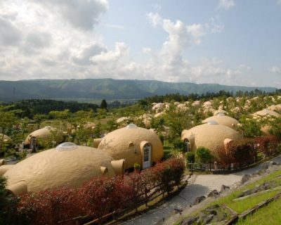 La Casa Domo De Japón Resistente A Los Terremotos