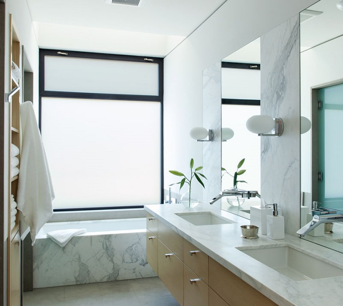 Imagen del cuarto de baño moderno