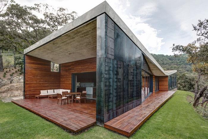 Fotos de casas modernas contemporaneas imagenes de casas for Casas contemporaneas en esquina