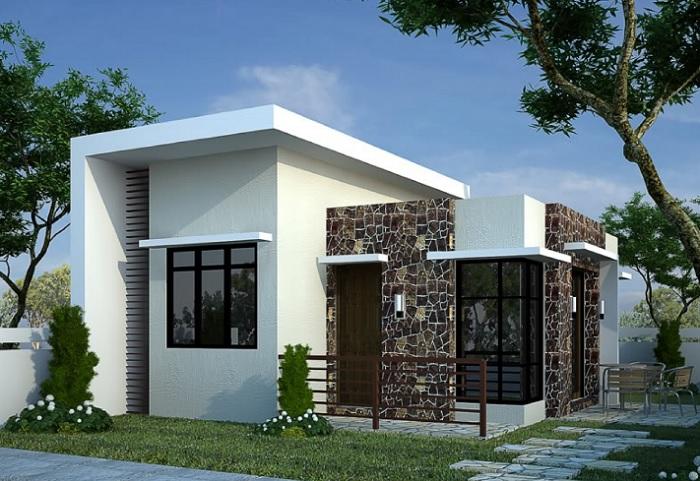 Modelos de casas sencillas pero hermosas imagenes de for Modelos jardines para casas pequenas