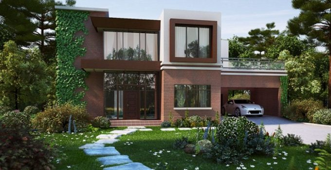 Imagenes de casas con jardin y cochera imagenes de casas del futuro - Fotos de jardines de casas ...