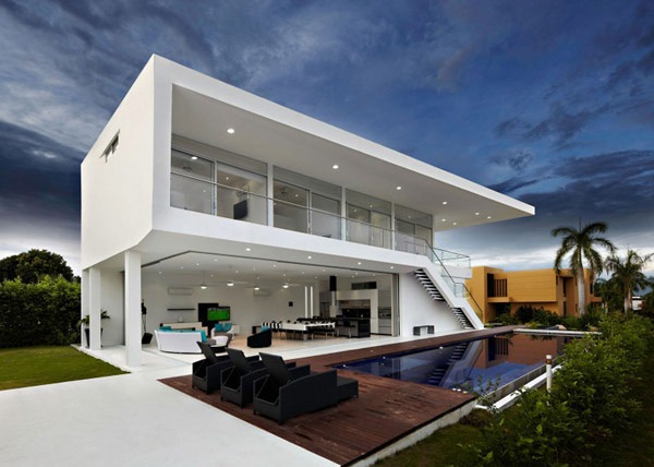 casas minimalistas modernas - Casas Minimalistas