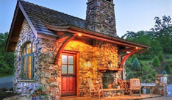 Fachadas de casas rusticas peque as imagenes de casas for Casas rusticas pequenas