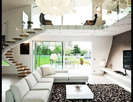 Fotos de casas modernas por dentro imagenes de casas del - Fotos de escaleras modernas ...